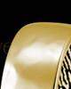 Men's Solid 14k Gold Hammered Thumbprint Ring