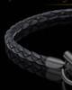 Black Plated over Stainless Forever Bracelet Keepsake Jewelry