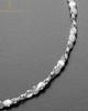 Heart Brushed Stainless Thumbprint Luxury Bracelet