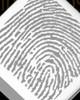 Stainless Beloved Diamond Thumbprint Pendant