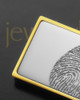 Silver on Gold Stainless Thumbprint Money Clip