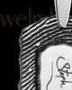 Sterling Silver Small Signature Dog Tag Thumbprint Pendant