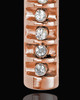 Ashes Jewelry Stainless Rose Gold Miracle Cylinder