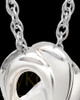 Cremation Ash Necklace Sterling Silver Infinity Cremation Keepsake