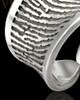 Sterling Silver Eternal Love Thumbprint Ring