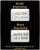 Black Stainless Cylinder Dashing Jewelry Urn