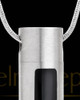 Stainless Steel Necklace Urn Soulful Cylinder - Eternity Collection
