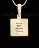 Solid 14K Gold Devoted To You Ash Jewelry