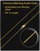 Cremains Locket 14K Gold Infinity