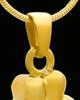 Cremation Locket Solid 14K Gold Companion