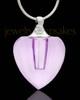 Necklace Urn Enthralling Heart Glass Locket