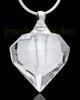 Cremation Pendant Teardrop Glass Locket