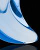 Ash Jewelry Blue Crescent Glass Locket