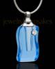 Memorial Jewelry Blue Ocean Glass Locket
