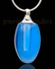 Urn Pendant Indigo Forever Glass Locket