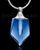 Cremains Pendant Dark Indigo Devoted Glass Locket