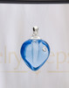 Glee Heart Glass Reflection Pendant