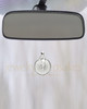 Clear Security Glass Reflection Pendant