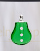 Green Sprinkle Glass Reflection Pendant