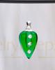Emerald Joyful Glass Reflection Pendant