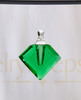 Emerald Fascination Glass Reflection Pendant