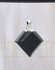 Nightfall Diamond Glass Reflection Pendant