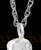 Remembrance Pendant Sterling Silver Boot