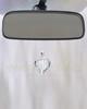Clear Teardrop Glass Reflection Pendant