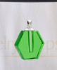 Green Honesty Glass Reflection Pendant