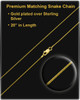 Cremation Urn Necklace Gold Plated Small Star