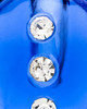 Cremation Locket Indigo Security Glass Locket