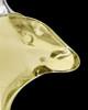 Urn Necklace Yellow Aquatic Glass Locket