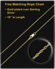 Memorial Pendant Grand Heart Keepsake-14K Gold Plated