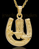 Memorial Pendant Gold Plated Giddy Up