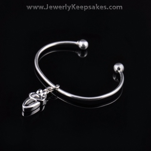 Remembrance Jewelry Bracelet Sterling Silver Two Person