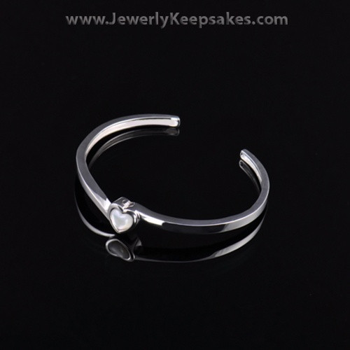 Remembrance Jewelry Bracelet Stainless Bright Heart