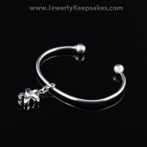 Remembrance Jewelry Bracelet Sterling Silver Daisy