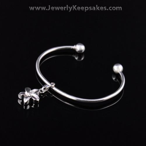 Remembrance Jewelry Bracelet Sterling Silver Daisy