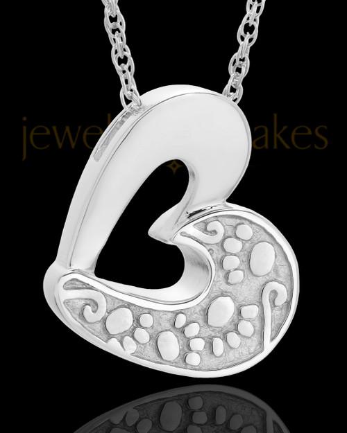 Pet Ash Jewelry 14k White Gold My Pal Keepsake