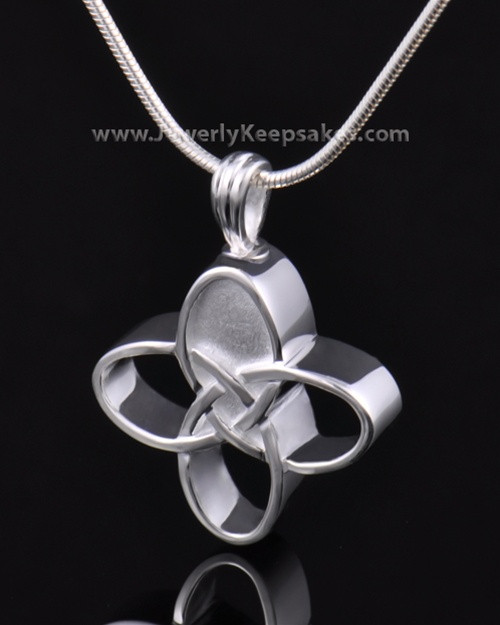 Memorial Keepsake Sterling Silver Celtic Cross Keepsake