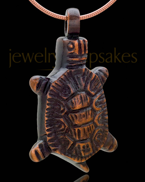 Remembrance Jewelry Copper Tiny Turtle Keepsake