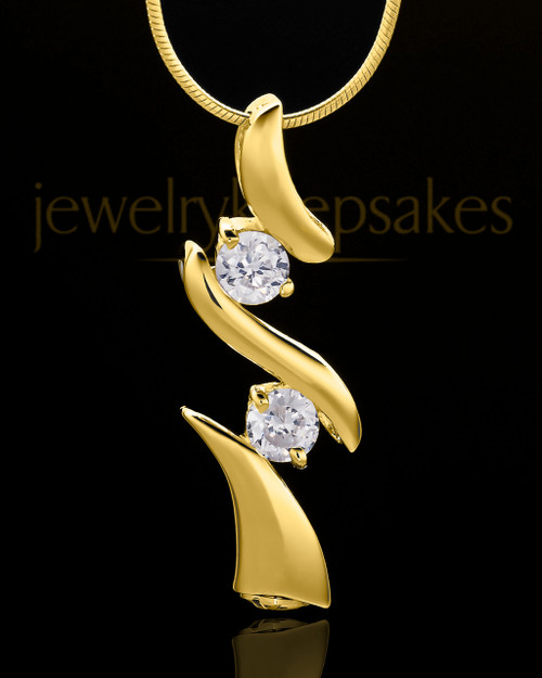 Gold Plated Endless Love Keepsake Jewelry