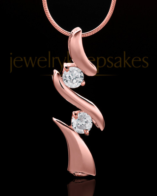 Rose Gold Plated Endless Love Keepsake Jewelry