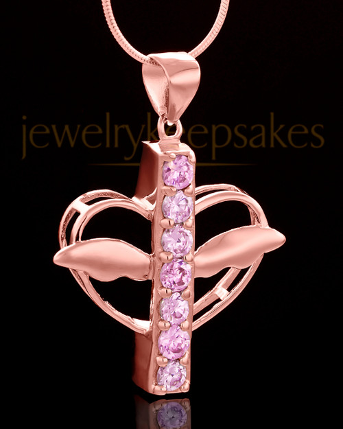 Rose Gold Plated Free Spirit Keepsake Jewelry