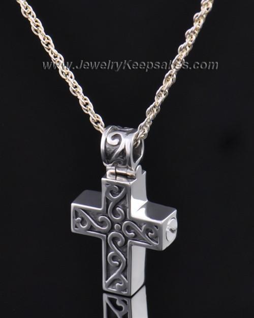 Sterling Silver Unity Cross Pendant