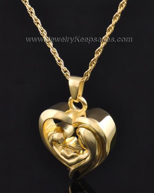 Bond of Love Gold Plated Heart Keepsake