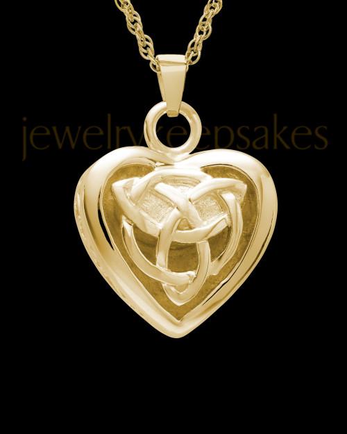 Warm and Tender 14k Gold Heart Keepsake