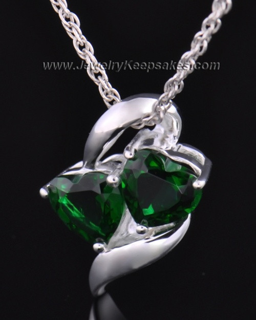 Sterling Silver Envious Cremation Necklace