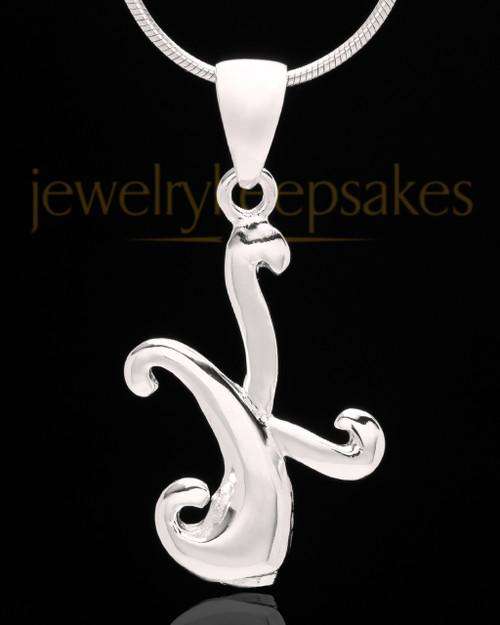 "Sterling Silver ""K"" Keepsake Jewelry"