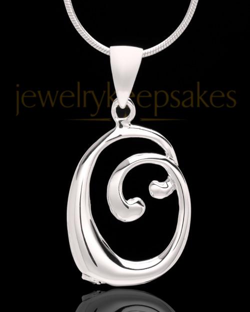 "Silver Plated ""O"" Keepsake Jewelry"
